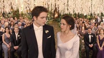 Boda Edward Cullen y Bella Swan en 'Crespúsculo'
