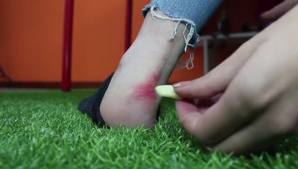 Cómo curar las ampollas de los pies con cosas que tienes en casa