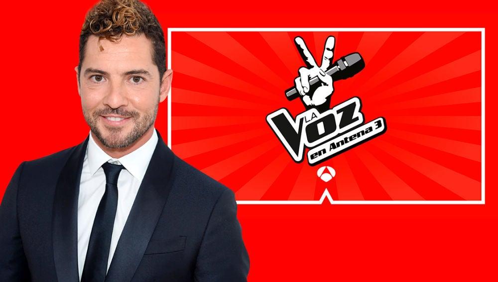 David Bisbal, primer coach confirmado de 'La Voz Kids' en Antena 3