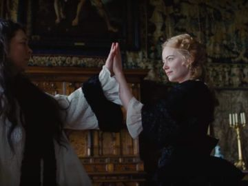 Emma Stone en 'The Favourite'