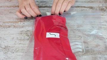 Limpiar una camiseta usada