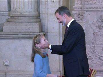 La princesa Leonor irá a Asturias de visita oficial
