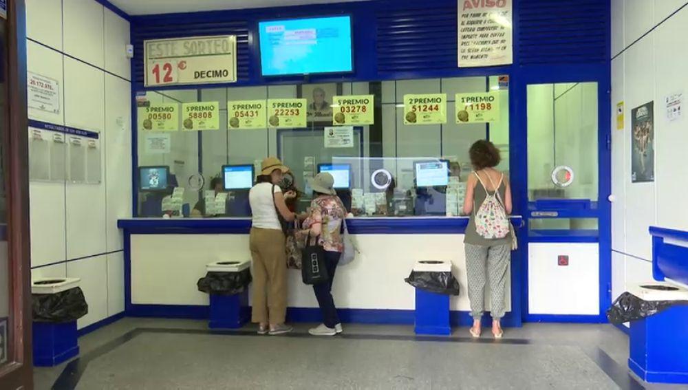 Salen a la venta los décimos para el Sorteo de la Lotería de Navidad