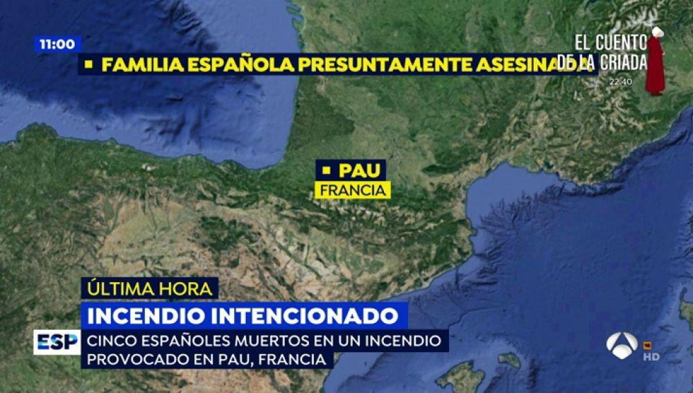 Encontrados 5 españoles muertos en un incendio provocado en Francia