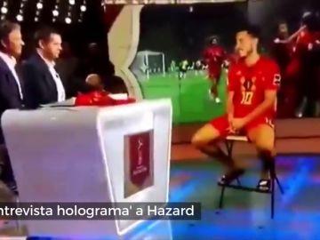 ¿'Star Wars' en la tele belga? Impresionante entrevista a Hazard