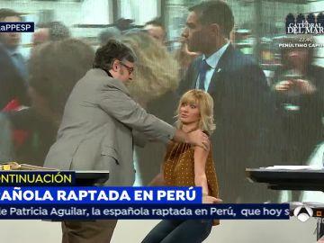 Susanna Griso y Juan Manuel de Prada.