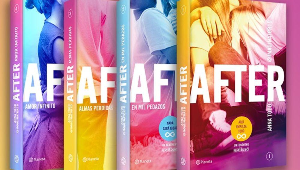 La saga literaria 'After'