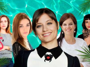 Así comienzan el verano las protagonistas de las series de Antena 3