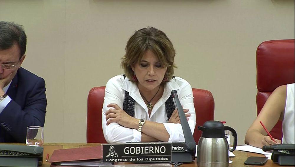 La ministra de Justicia, Dolores Delgado