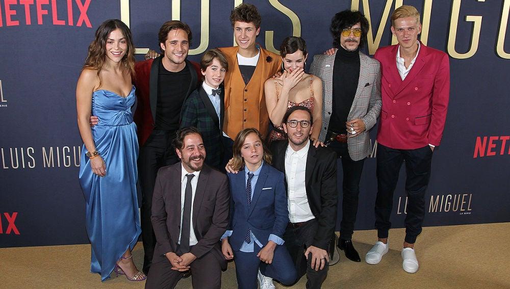 Reparto de la serie Luis Miguel