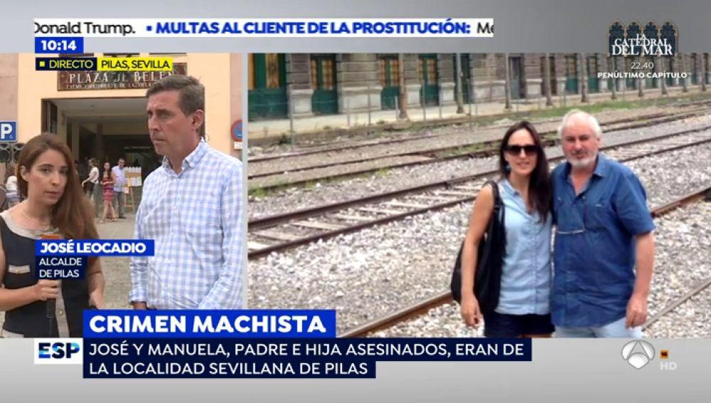 'Espejo Público' habla con el alcalde de la localidad a la que pertenecían el padre y la hija asesinados en Pau, Francia