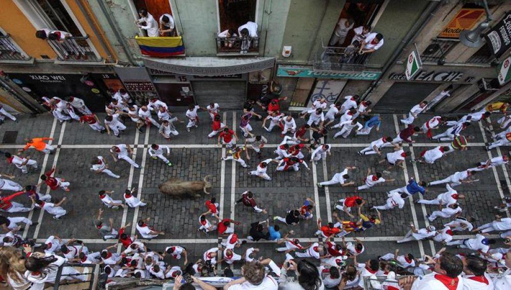 El quinto encierro de San Fermín 2018