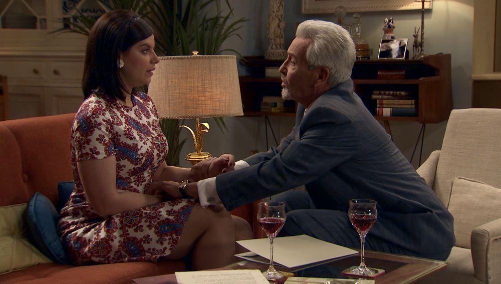 Marchessi vuelve a malinterpretar a Marta y Durán evita que se propase con ella