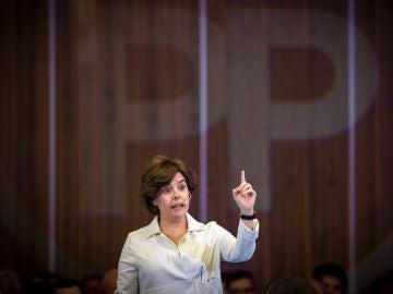 Soraya Sáenz de Santamaría en una imagen de archivo