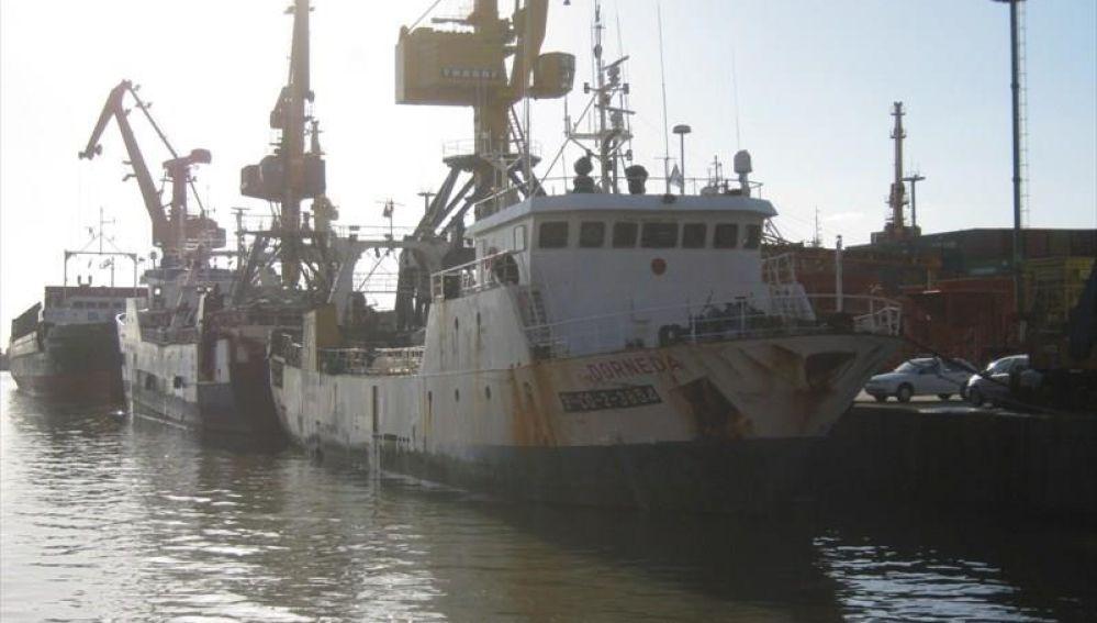 Naufragio de un pesquero español en Argentina