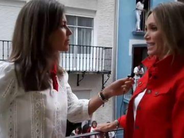 Antena 3 Noticias vive con la torera Cristina Sánchez el sexto encierro de San Fermín