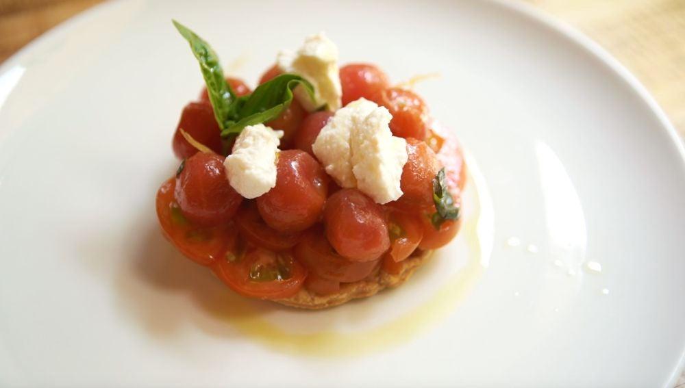 Tatín de tomate