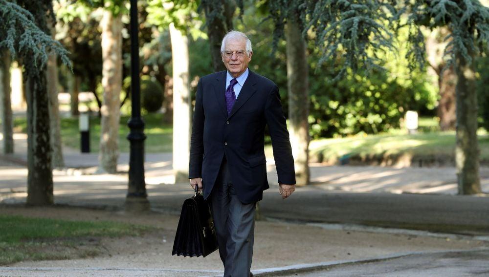 El ministro de Asuntos Exteriores Josep Borrell.
