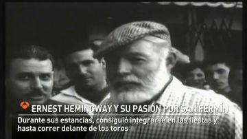 Hemingway, una pieza clave en la internacionalización de las fiestas de San Fermín