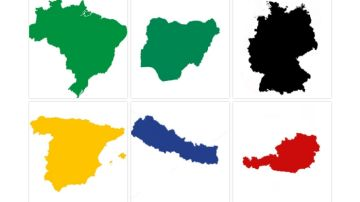 Test de países