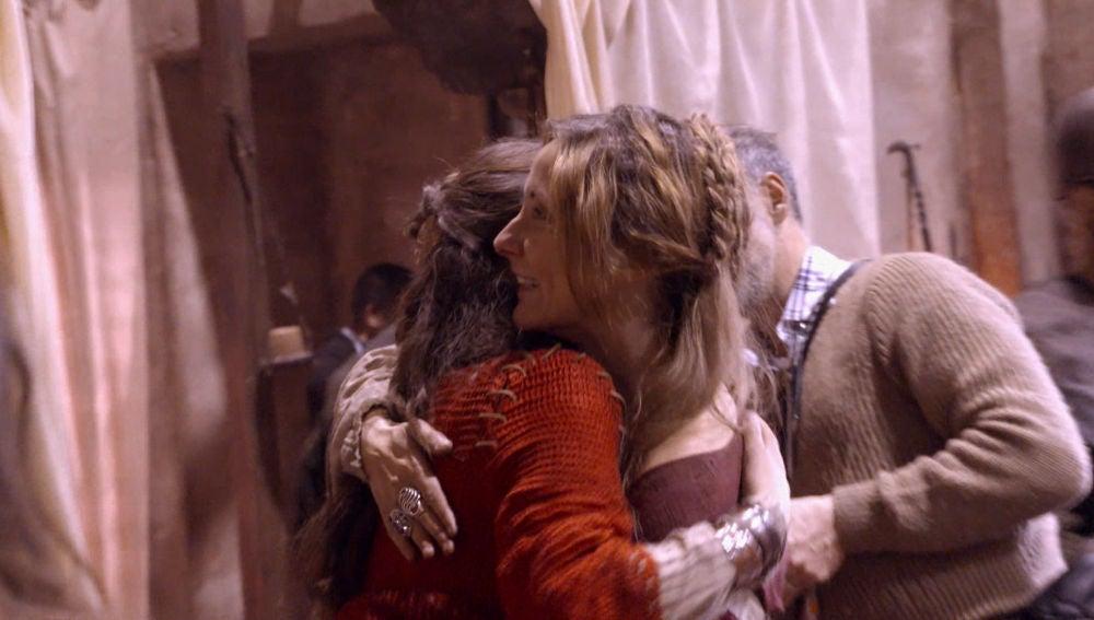 Nos colamos en la última escena de Nathalie Poza como Francesca