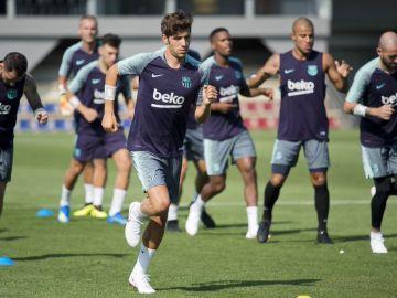 Primer entrenamiento del Barcelona 18/19