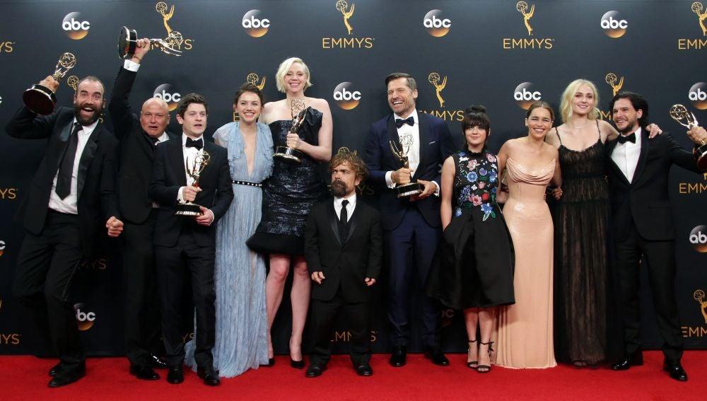 Miembros del reparto de la serie 'Juego de Tronos'