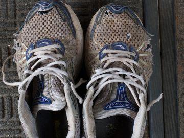 Zapatos olorosos