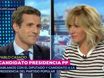 Pablo Casado toma 'un café con Susanna'