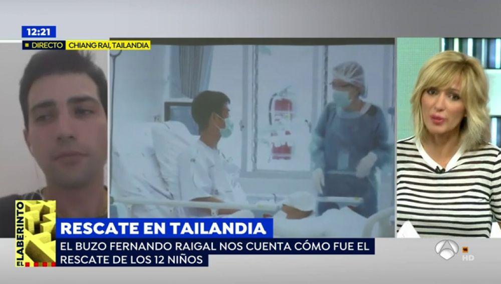 """El buzo español en el rescate de los niños: """"No se descarta que entraran por su cuenta y después llamaran al entrenador"""""""
