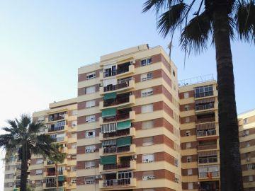 Rescate de una niña en Málaga