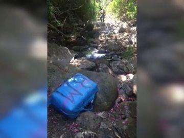 Encuentran 1.110 kilos de hachís escondidos entre la maleza en Algeciras