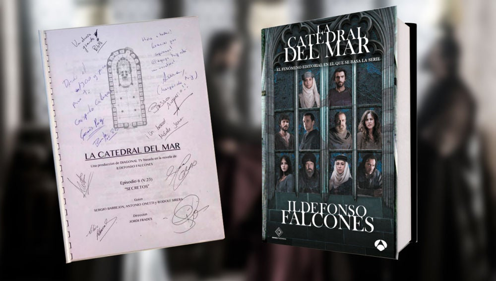 ¡Tenemos al ganador del sexto guion firmado de 'La Catedral del Mar'! ¿Serás tú?