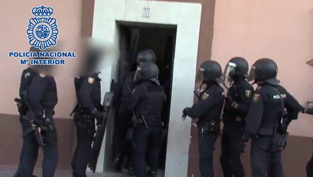 Detenidas 39 personas pertenecientes a bandas latinas por casos de robos con violencia