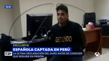 """Espejo Público (13-07-2018) EXCLUSIVA: La chulería del gurú que captó a Patricia Aguilar en una secta: """"No me hagan tortura psicológica"""""""