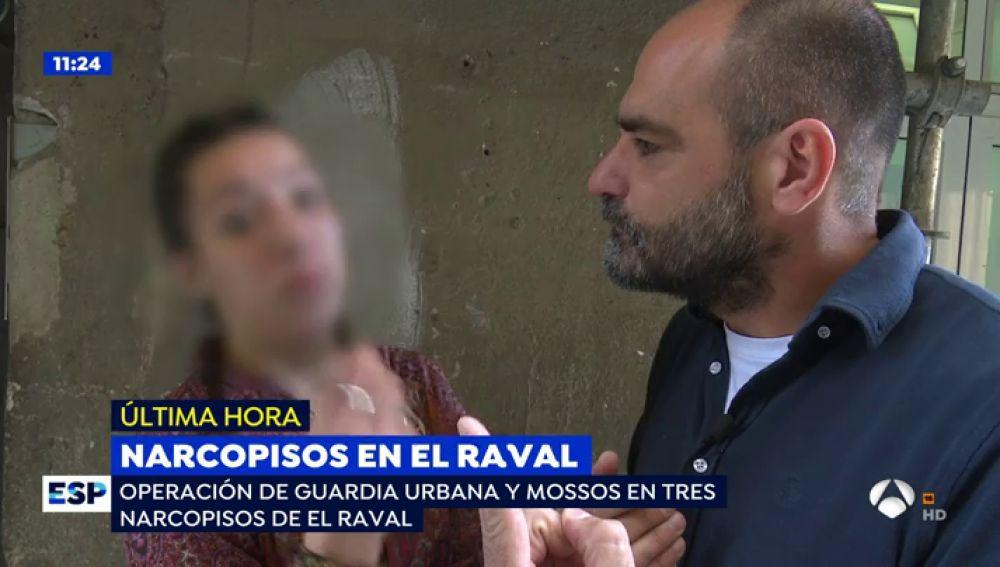 """Cliente de un piso donde trafican con droga: """"Hay más de veinte personas dentro del narcopiso inyectandose heroina"""""""