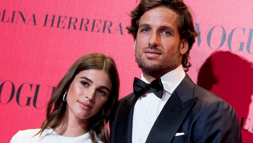 La primera aparición pública de Feliciano López y Sandra Gago