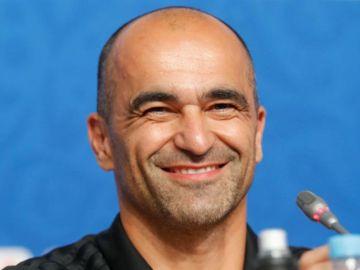 El seleccionador de Bélgica, Roberto Martínez.