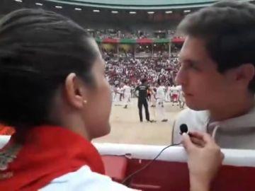 El torero Ginés Marín nos cuenta su experiencia corriendo en el séptimo encierro de San Fermín