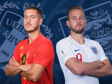 Bélgica vs Inglaterra, final de consolación del Mundial de Rusia