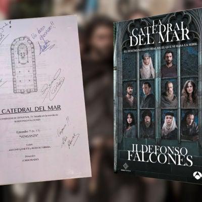 Consigue el séptimo guion de 'La Catedral del Mar' firmado por los actores