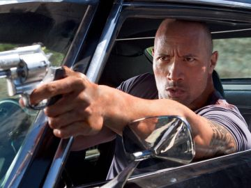 Dwayne Johnson en 'Sed de venganza'