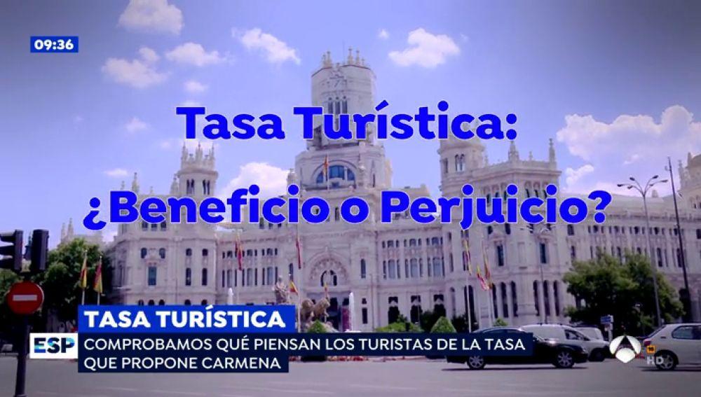 """'Espejo público' pregunta sobre la tasa turística que quiere implantar Carmen: """"Si pagamos cuando vamos a visitar otros países, ¿por qué no pagan ellos?"""""""