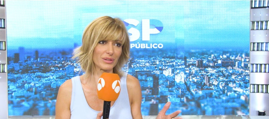 Antena 3 tv susanna griso nos cuenta sus planes para las for Antena 3 espejo publico hoy