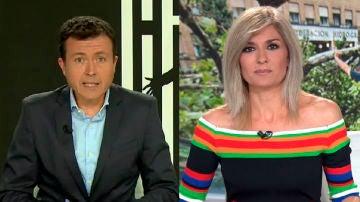 Manu Sánchez y Sandra Golpe