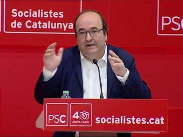 Iceta pide a los independentistas que no supediten la política a las decisiones judiciales