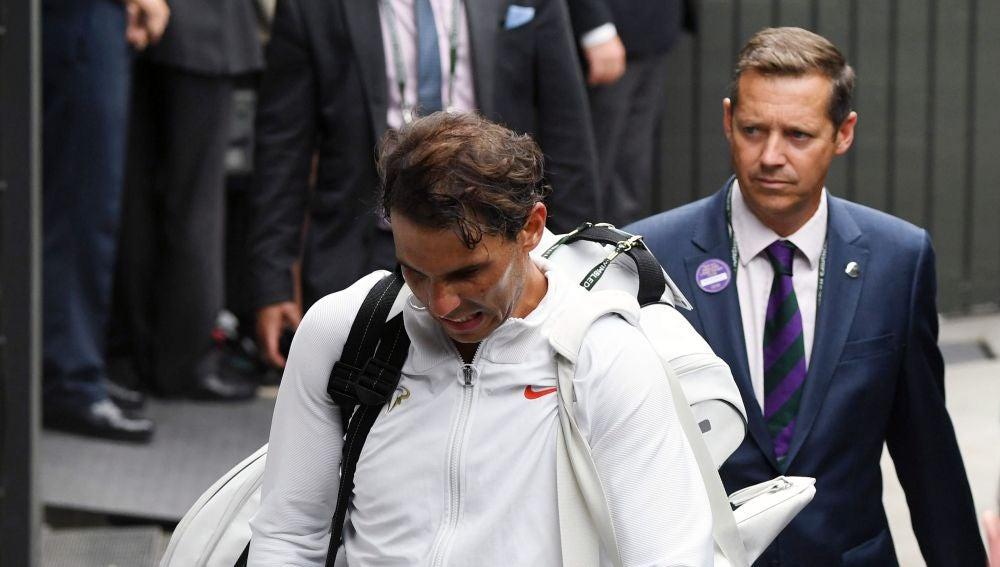 Rafa Nadal, tras caer eliminado ante Djokovic