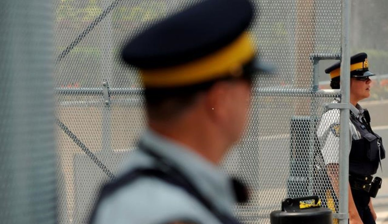 Dos policías estadounidenses