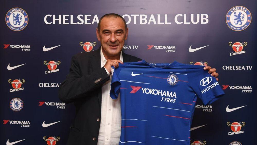 Maurizio Sarri  nombrado como entrenador del Chelsea