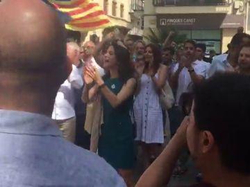 VIDEO COMPLETA: Inés Arrimadas gritos
